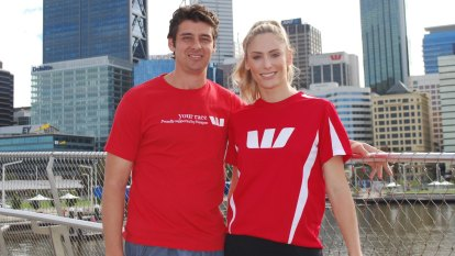Embleys fly the flag for a good cause in the Westpac-WAtoday Swan River Run