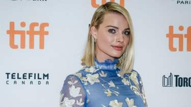 Margot Robbie at the screening of I, Tonya during the Toronto International Film Festival.