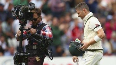 Captain Michael Clarke was Australia's only top-six batsman to reach double-figures.