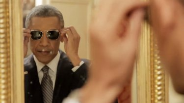 Barack Obama shows off a new level of cool in the BuzzFeed video.