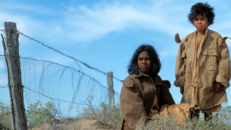 One of Phil Noyce's most acclaimed films ... Rabbit Proof Fence.
