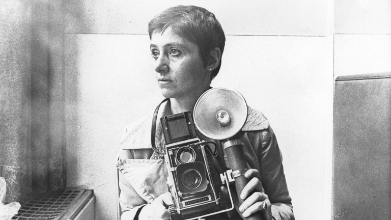 Diane Arbus in New York, circa 1968.