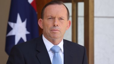 """""""Woman problem"""": Prime Minister Tony Abbott has faced criticism for a perceived lack of women in cabinet."""