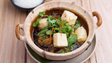 Tofu hotpot.