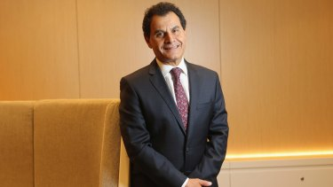 Medibank chief executive George Savvides is pushing for big changes in the health system.