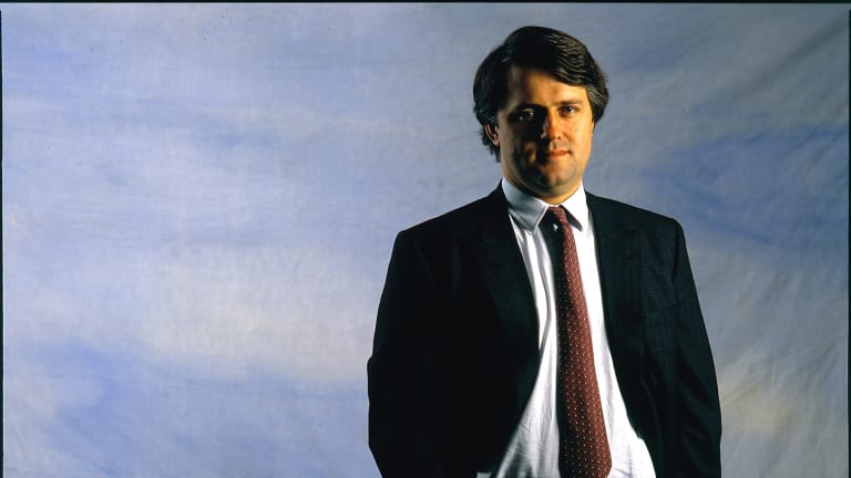 Merchant banker Malcolm Turnbull photographed on 15 August, 1988.