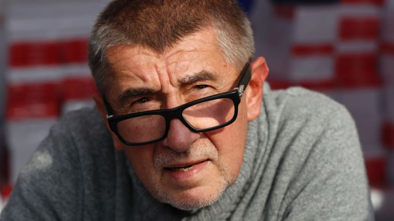 Loved by his supporters, unclear what his agenda is: Czech billionaire Andrej Babis.