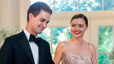 Miranda Kerr and her fiance Evan Spiegel will wed this weekend.