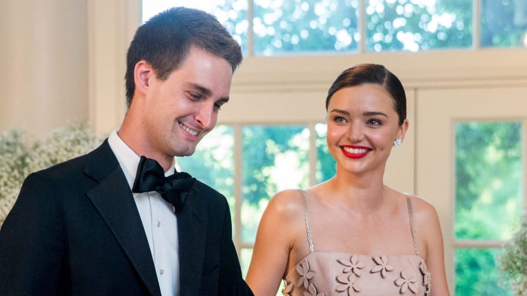 Miranda Kerr and her fiance Evan Spiegel will wed this weekend.