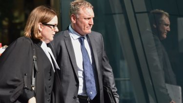 Colin Hahne has been found not guilty of 49 theft and deception-related charges.