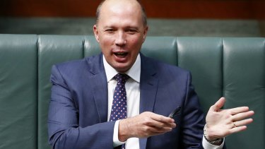 """Minister for Immigration and Border Protection Peter Dutton has been accused of conducting """"an attack on free speech"""" by cancelling the visa of Palestinian political activist Bassem Tamimi."""