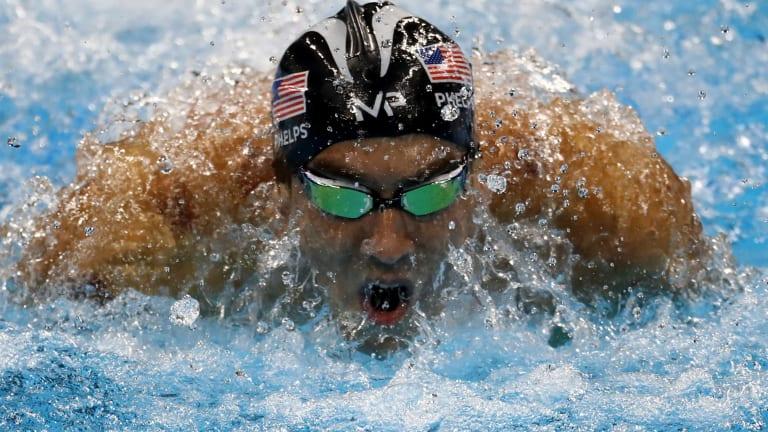Mental strength: Michael Phelps.