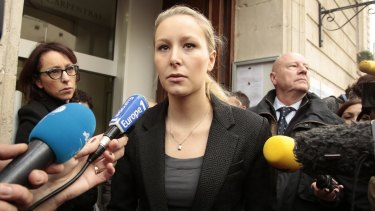 Golden girl: Marion Marechal-Le Pen, vice-president of the French far-right National Front.