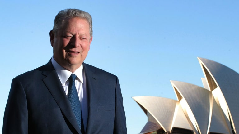 """All around the world, the coal industry is in a terminal decline"" ... former US vice-president Al Gore in Sydney."