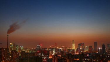 In 2012, coal made up one-quarter of Beijing's total energy consumption.