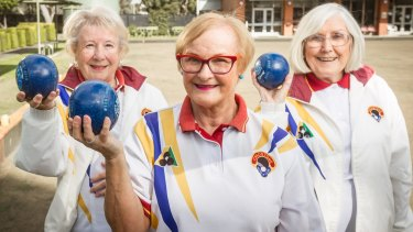 Terry, Janine and Wyn featured in a Beyonce-styled video to try and help save the Chadstone Bowls club from demolition.