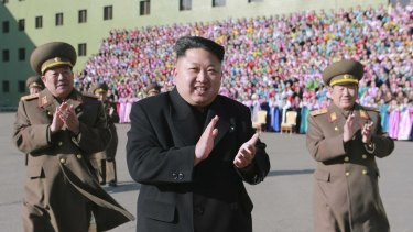 North Korean leader Kim Jong-un and his government have been accused of hacking Sony Pictures.