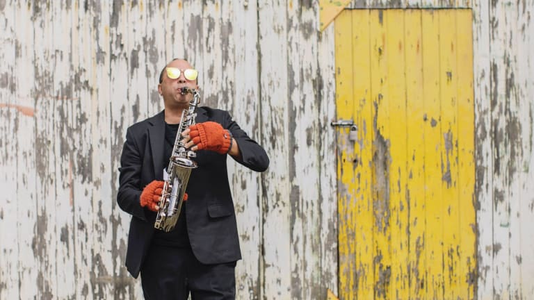 Adam Simmons' project  reflects his very raison d'etre as a creative musician.