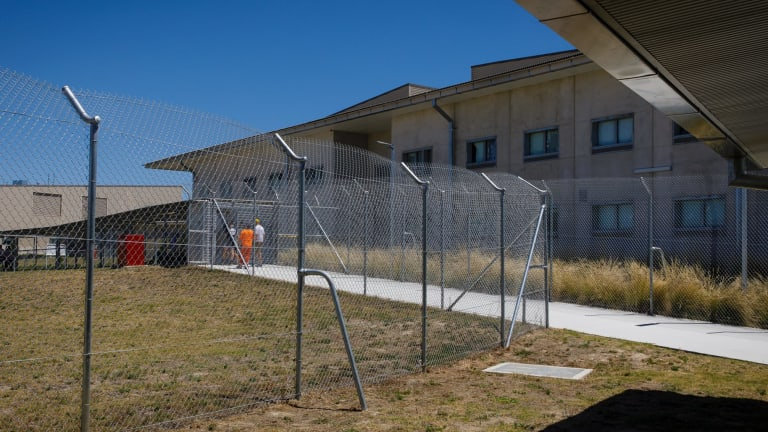 The Alexander Maconochie centre on National Corrections Day. Photo: Sitthixay Ditthavong