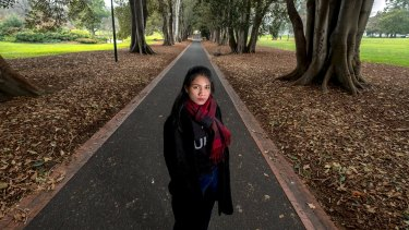 Former Cambodian slave Sophea Touch gave evidence to a modern slavery inquiry in Melbourne this month.
