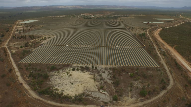 The first stage of the Kidston power station will be a 50 megawatt solar farm.
