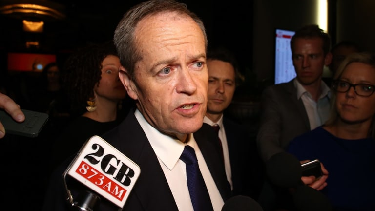 "Opposition Leader Bill Shorten told media in Sydney the raids were ""an extraordinary development""."