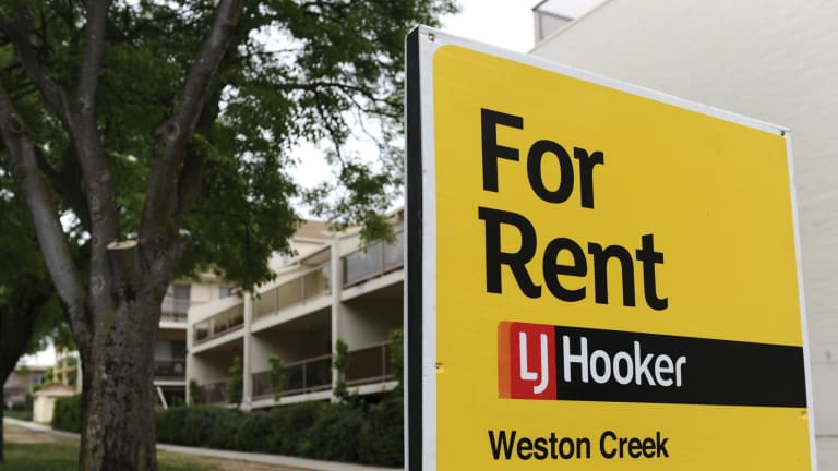 Canberra rents now sit at an average $505 per week.