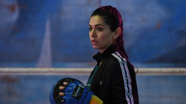 On The Ropes, stars Nicole Chamoun.