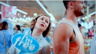 """Coles' television commercial """"I'm free"""" at least prioritised customer service."""