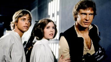 Carrie Fisher claims she and Harrison Ford had an affair while filming Star Wars