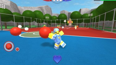 Roblox, a popular game among children and teens, with 1.7 million users, allows users to build and share video games.