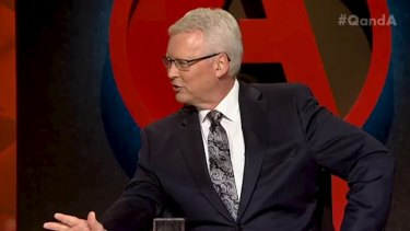Host Tony Jones kept his guests on their toes on Monday night.