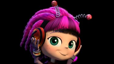<i>Beat Bugs</i> character Kumi, created by Josh Wakely who spent three years pitching for the rights to all The Beatles' songs.