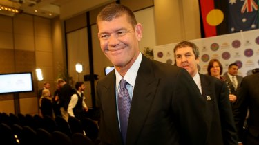 James Packer, Crown Resorts chairman, is an entrepreneur at heart.