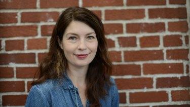 Author Kirsten Tranter.