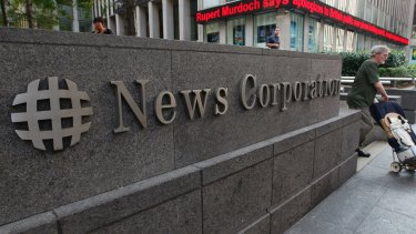 Rupert Murdoch's News Corp said its full-year revenue edged up 1 per cent to $US8.63 billion ($11.7 billion) from the year-earlier $8.57 billion