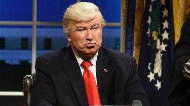 Alec Baldwin's Donald Trump impression gets under the President's skin.
