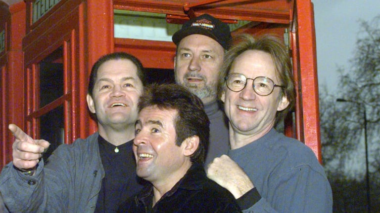 The Monkees, pictured in 1997, have got back together numerous times over the years and now have a new album out.