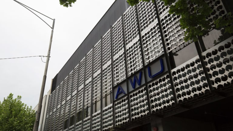 The  AFP raided the Spencer Street offices of the AWU.