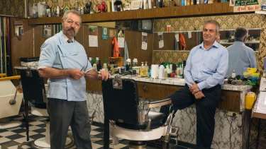 Angelo Perri (left) and his brother Tony run a special piece of Sydney's suburban history.