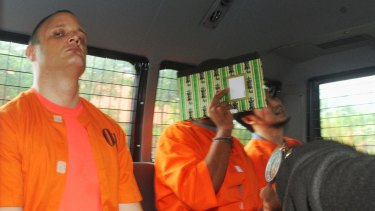 Australian accountant Isaac Emmanuel Roberts (left) was arrested in Bali for allegedly importing drugs.