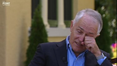 Malcolm Turnbull was moved to tears during a recent interview with Stan Grant.