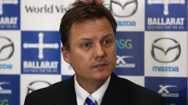 North Melbourne president and media personality James Brayshaw.