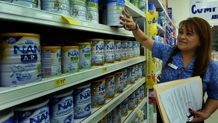 """International health authorities have stopped short of endorsing World Health Organisation guidelines that would have prevented the """"aggressive marketing"""" of baby formula."""