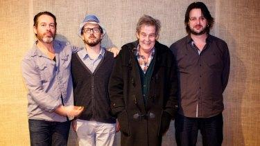 Julien Wilson Quartet , from left, Jonathan Zwartz, Barney McAll, Allan Browne and Julien Wilson.