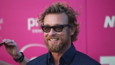 """I knew I had to somehow make the film"": Simon Baker on the red carpet at Tropfest last year."