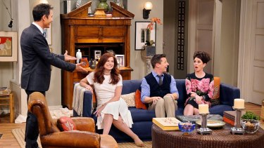 Will and Grace is back again and it's as if we never said goodbye.
