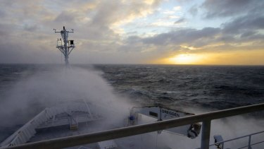 CSIRO's RV Investigator on one of its research voyages.