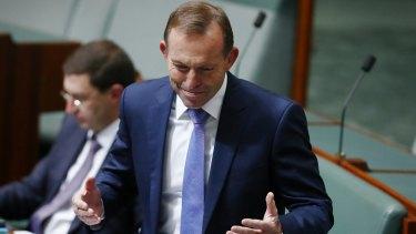 "Mr Abbott declared ""we need to make Australia work again"" as he sent Mr Turnbull an ominous message."