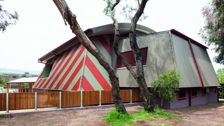 Deakin University Geelong 's Institute of Koorie Education designed by Greg Burgess.